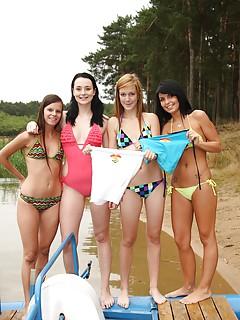 Bikini Lesbian Sex