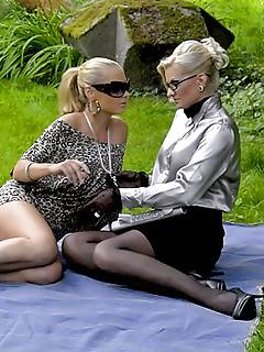 Glasses Lesbian Sex