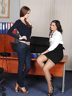 High Heels Lesbian Sex